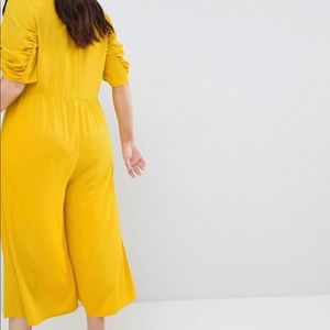 ASOS Curve Other - ASOS curve tea jumpsuit with knot front